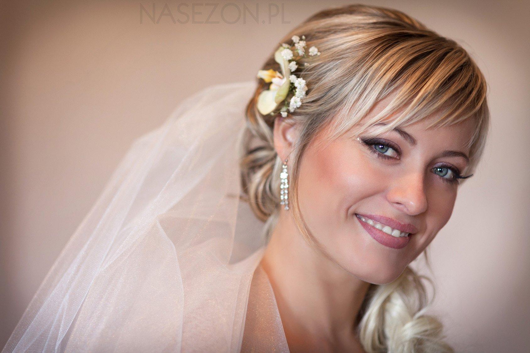 Fryzura ślubna #2
