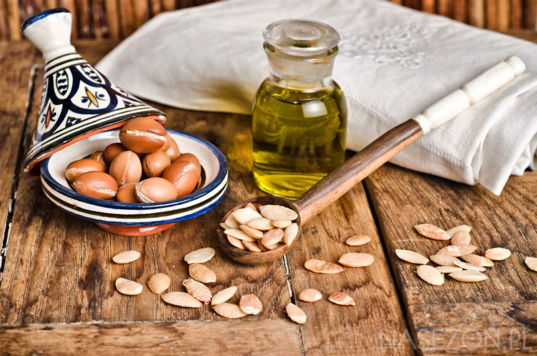 Owoce arganu i olej arganowy