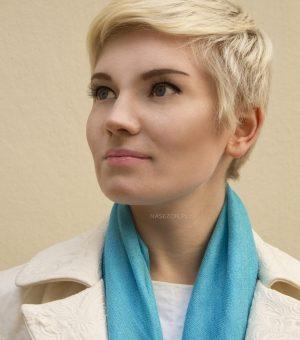 Krótka fryzura damska #30